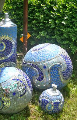Mosaico - Mosaik im garten gestaltung ...